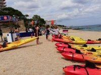 Alquiler de kayaks individuales