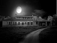 Exterior noche luna