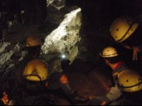 Inside view of the cave