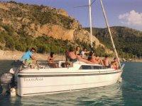 Barco modelo Ibiza