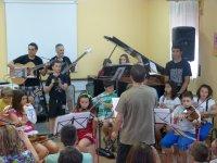 Orquesta en el aula