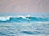 Surfeamos por la Caleta de Famara