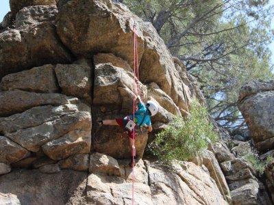 Atrepar escuela de escalada Campamentos Urbanos