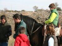 Excursiones a caballo para ninos