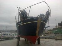 Parte delantera del barco