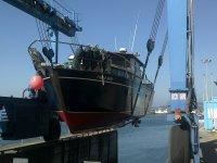 Transportando el barco