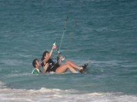 标志学习风筝冲浪类iniciacion