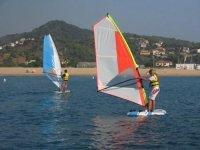 windsurfeando
