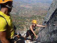 escalereas铁索攀岩铁索攀岩路线