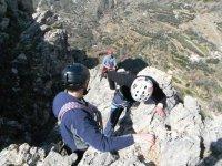 Beginning climbing