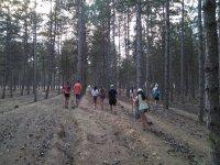 Excursion en el campamento