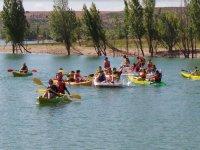 Kayaks e hidropedales