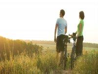 Parada en bici