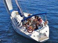 velero navegando
