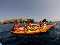Kayak excursion in Murcia
