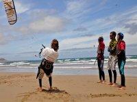Aprendizaje de kitesurf