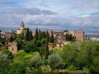 La Alhambra desde el aire