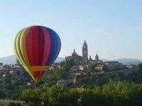 Flight in Segovia in a balloon