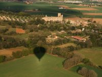 Balloon flight over the towns of Costa Brava