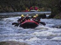 Discesa di rafting