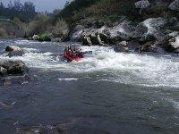 Rafting nei fiumi galiziani