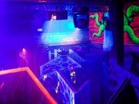 Laberinto de laser tag