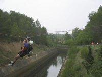 Zip line in silleda