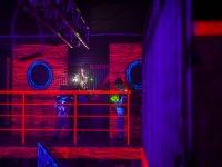 Disfrutando del laser combat