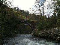 Zip line il fiume