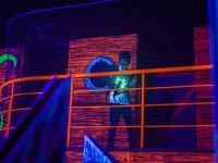 Emocionante laser combat