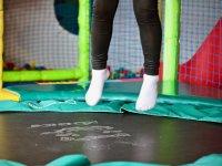 Saltos en cama elastica