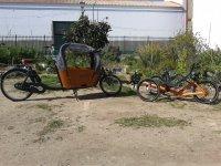 Bici reclinada en Sevilla