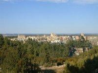 Vistas de la naturaleza y pueblos de Cuenca