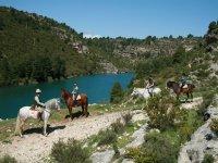 Rutas a caballo en las hoces del Jucar