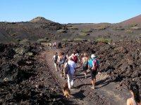 Senderismo atraves de volcanes