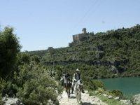 Rutas a caballo cerca del castillo