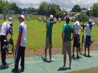 compétition de tir à l'arc