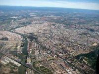 Plano aereo de Sevilla