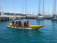 Banana en el puerto de Valencia