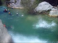 Canyoning in Málaga for groups
