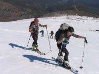 Esquí montaña primavera