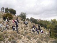 徒步旅行在阿尔梅里亚远足阿尔梅里亚