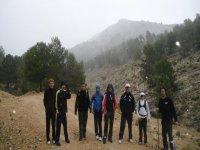 Practicar senderismo en Almería