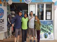 Visita de PADI - Gorka & Jason