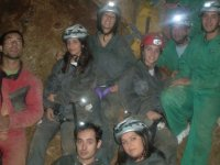 Initiation to caving