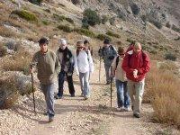 越野登山步道在阿尔梅里亚
