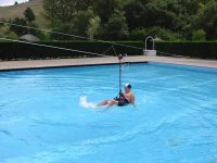 Zipline in Water