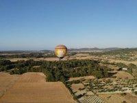 Volando en globo sobre Mallorca
