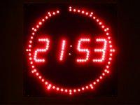 Clock counts back