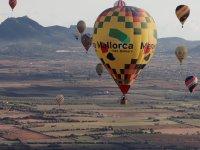 Excursión en globo sobre las islas Baleares